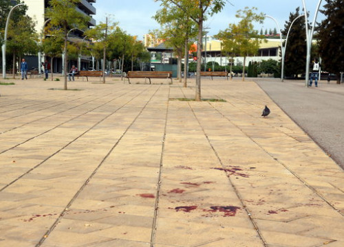 A man died on Sunday night in Badalona following a brawl near the Gorg metro stop (by Eduard Batlles)